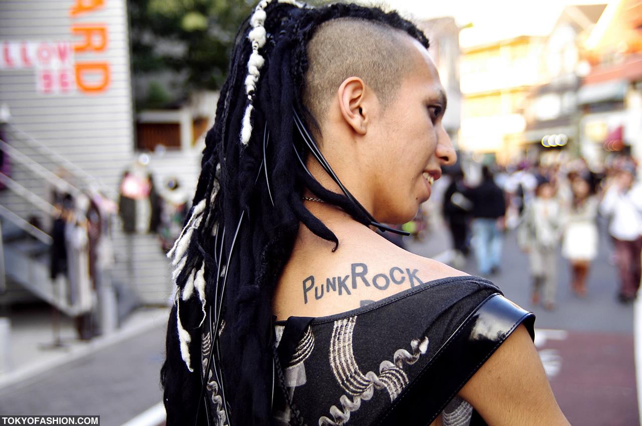 Image result for dreadlock punk