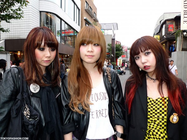 Japanese Hair in Harajuku