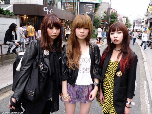 Japanese Girls With Cool Makeup