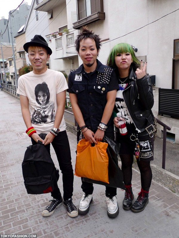 Japanese Punk Fashion