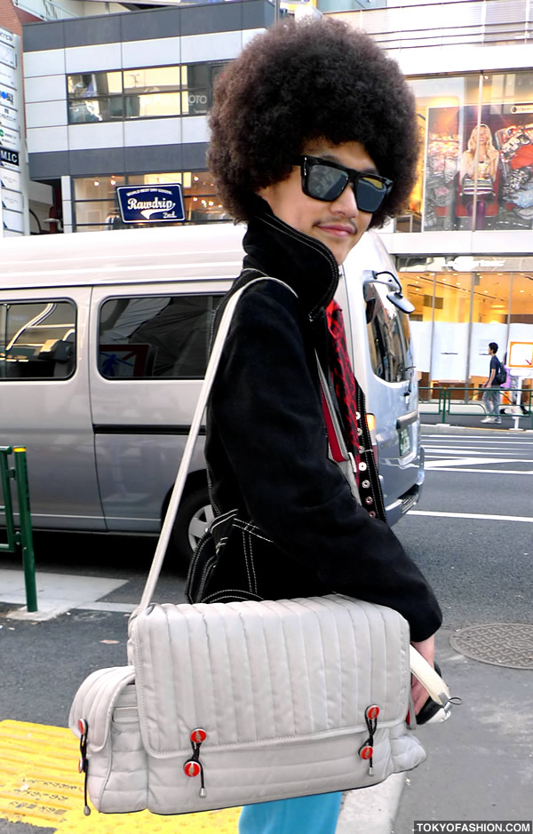 Pleasant Japanese Guy Named Bob With An Afro Hairstyles For Women Draintrainus