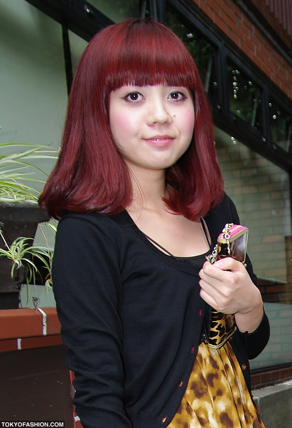 Would a Japanese girl like me look good with red hair? | Yahoo Answers