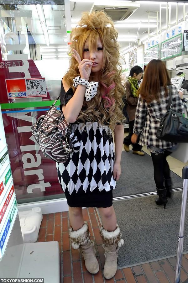 Blonde Shibuya Gal
