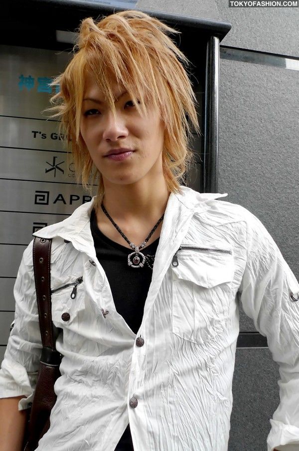Shibuya Guy Hairstyle