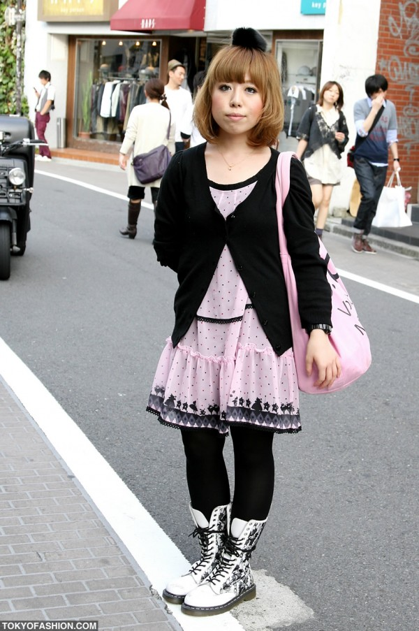 Pink Alice in Wonderland Dress