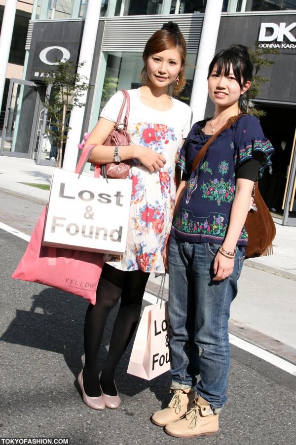 Lost & Found Flower Girls on Cat Street