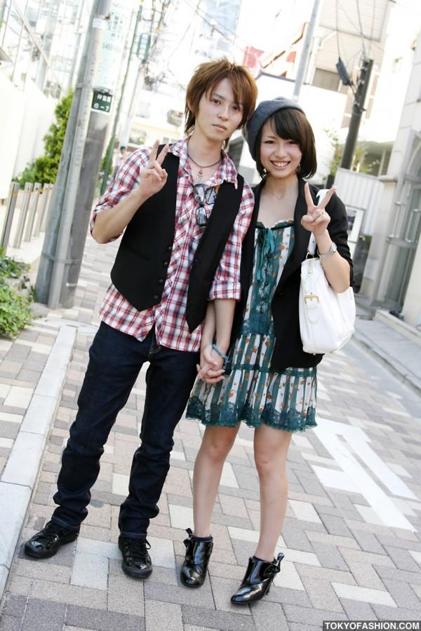 BonBon Beret Girl & Guy in Harajuku