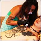 Female Japanese Tattoo Artist