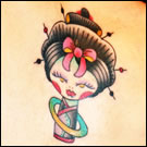 Cute Japanese Tattoo