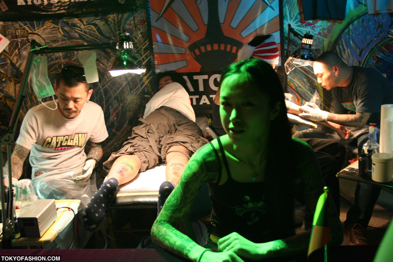 Top 10 Tokyo Tattoo Shops 2009 015 There is no shortage of places to look.
