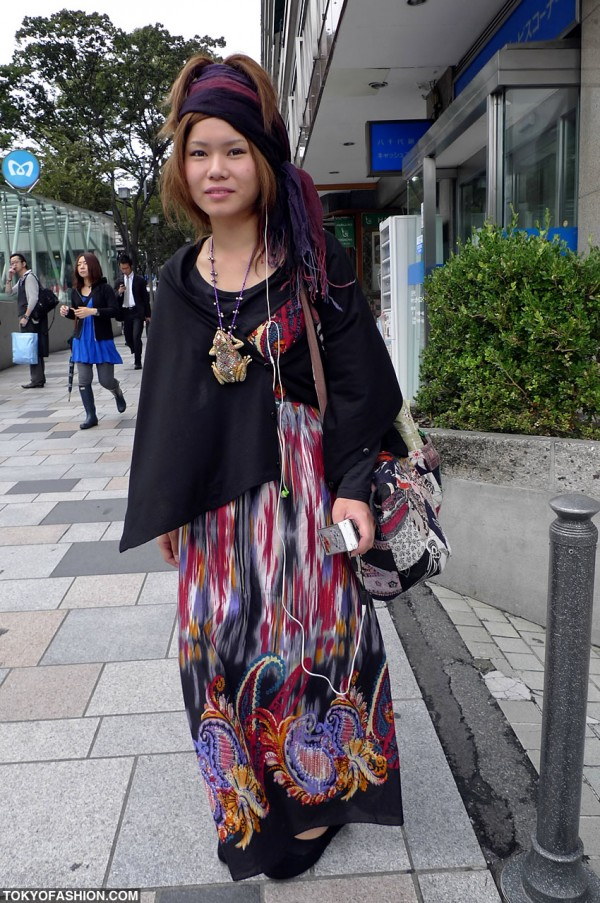 Cool Girl Fashion in Harajuku