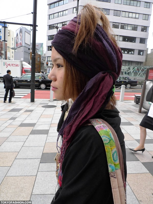 Cool Harajuku Hairstyle