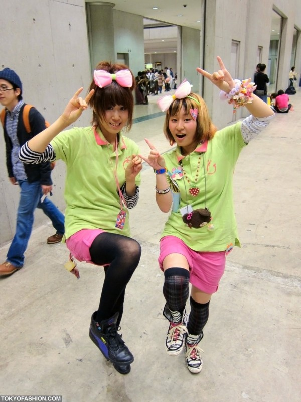 Cute Girls at Design Festa in Tokyo
