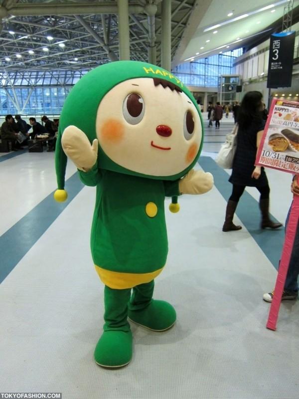 Cute Green Man at Design Festa