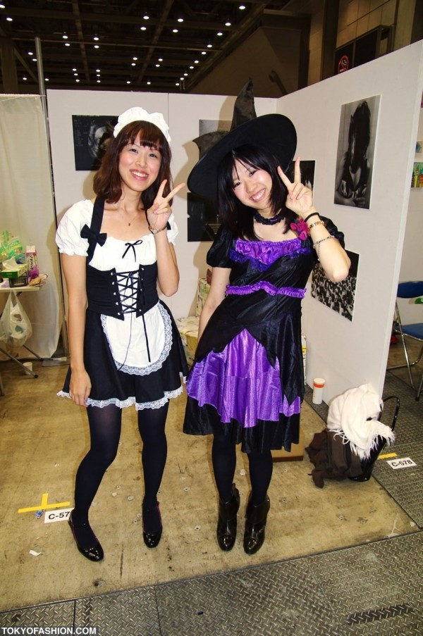 Japanese Maid & Witch Girls