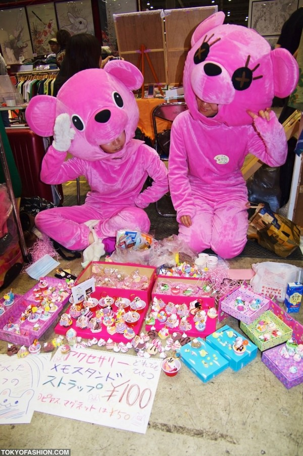 Cute Pink Japanese Costumes