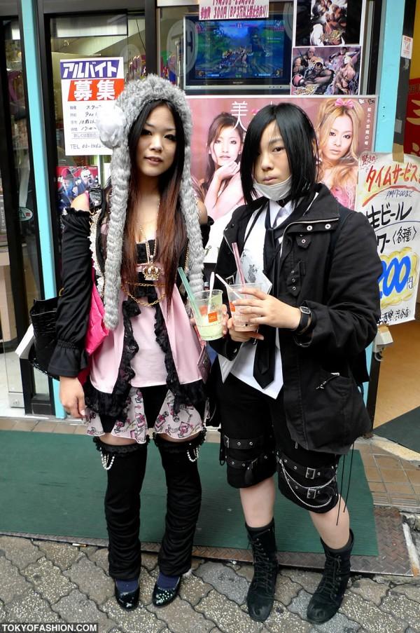 Golds Infinity Girls in Shibuya