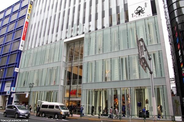H&M Shinjuku Opening Day