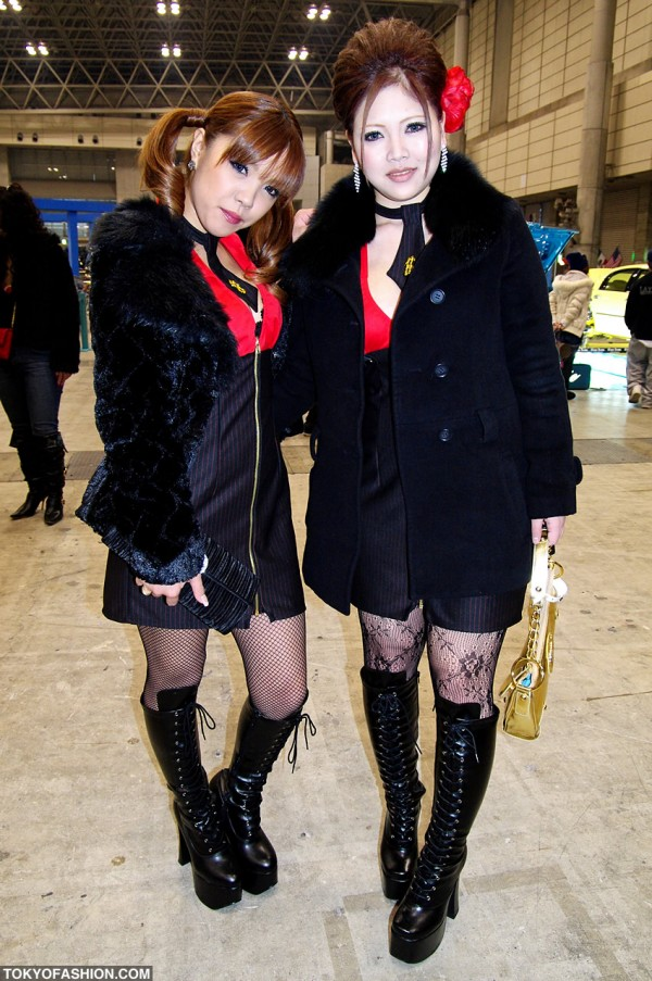 Lowrider Car Show Girls in Tokyo