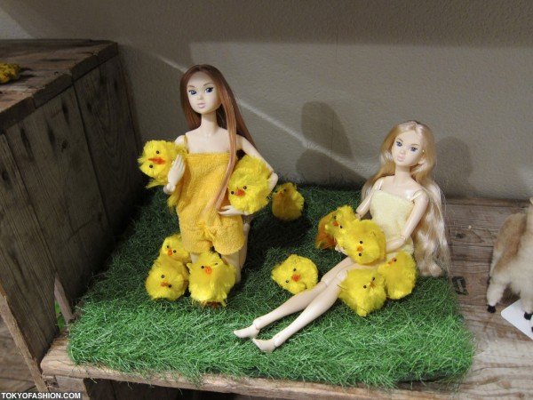 Pajama Dolls With Chicks