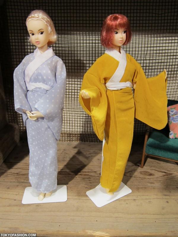 Japanese Doll Kimonos