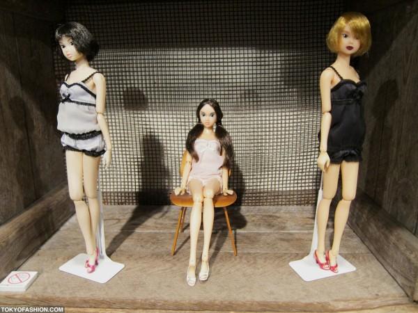 Three Momoko Dolls in Lingerie