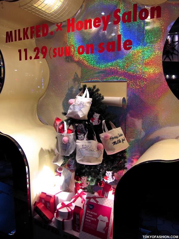 Milkfed x Honey Salon Holiday Tote Bag
