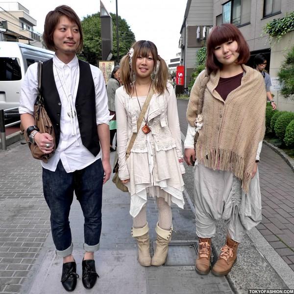Mori Girl Fashion in Harajuku