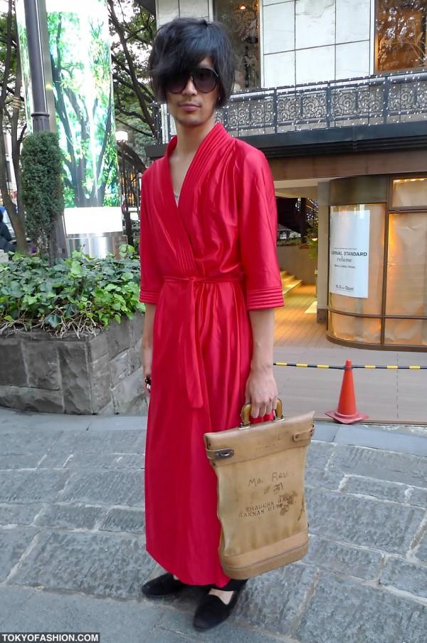 The Red Robe of Harajuku