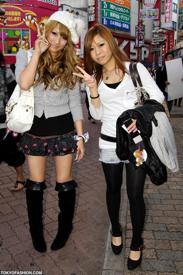 Pretty Blonde Japanese Girls