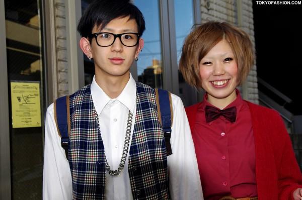 Cute and Colorful Harajuku Boy and Girl