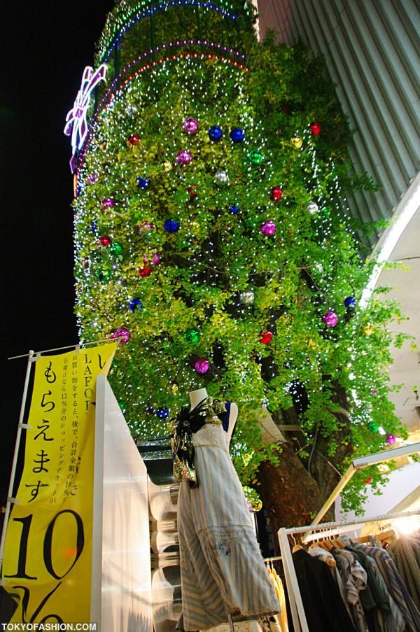 LaForet Harajuku Christmas Tree
