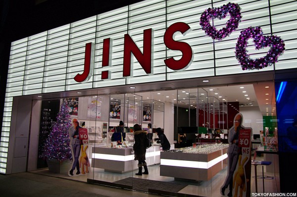 Jins Glasses Shop Harajuku