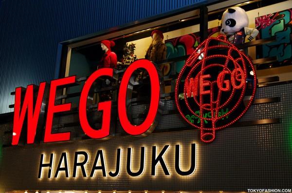 WEGO Harajuku Shop