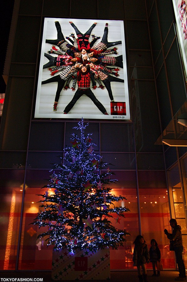 Gap Harajuku Christmas Tree