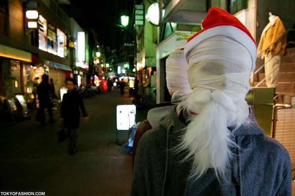 Scary Japanese Santa!