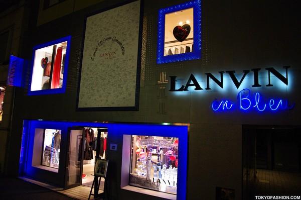 Lanvin Cat Street Store