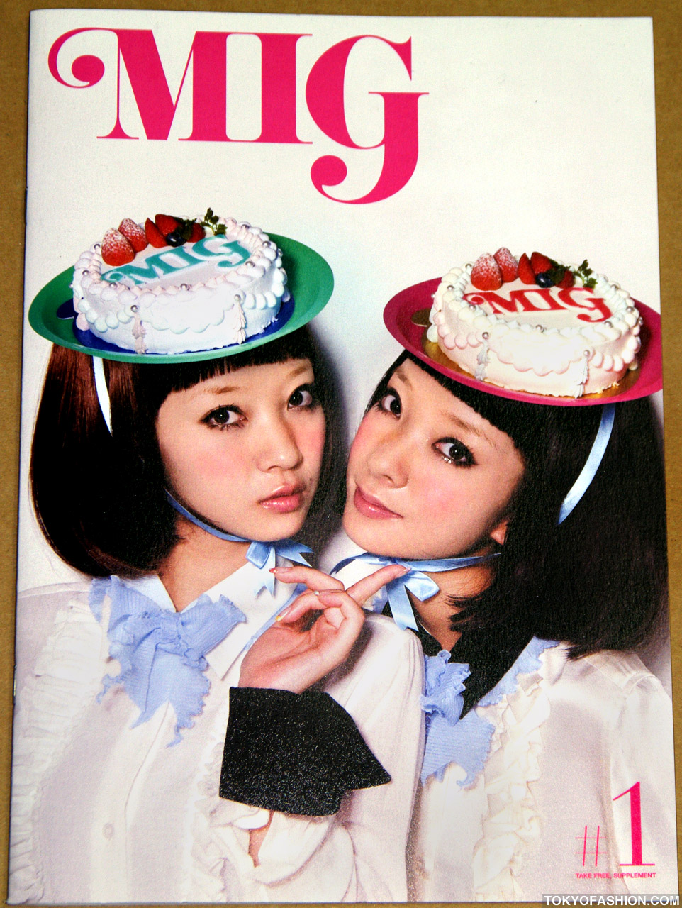 MIG (Made in Girl) - Free Japanese Fashion Magazine
