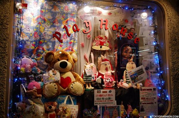 Cute Characters at Play House Tokyo