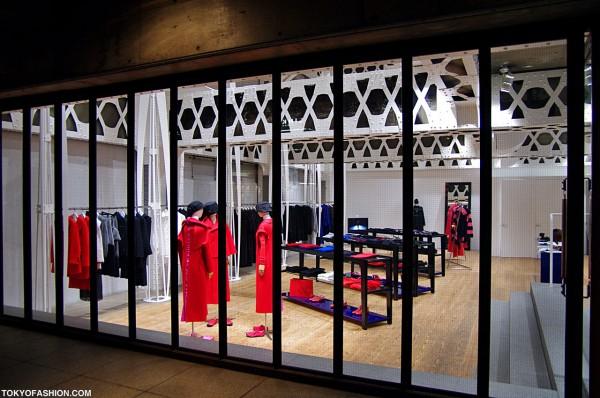 Beautiful Yohji Yamamoto Shop