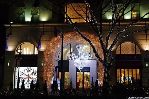 Pretty Aoyama Holiday Lights
