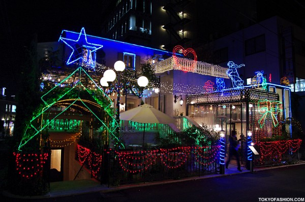 Cute Christmas Lights in Tokyo