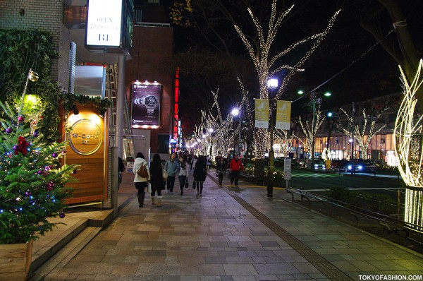 Omotesando Dori Christmas Lights