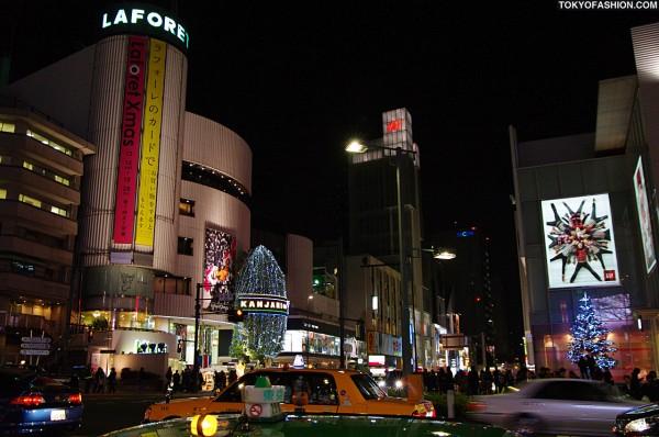 LaForet Harajuku and H&M