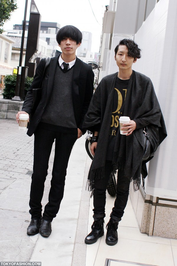 Men's Fashion in Harajuku