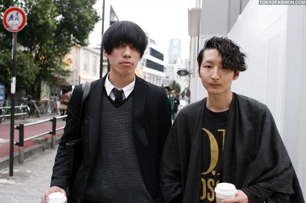 Japanese Guys in Harajuku