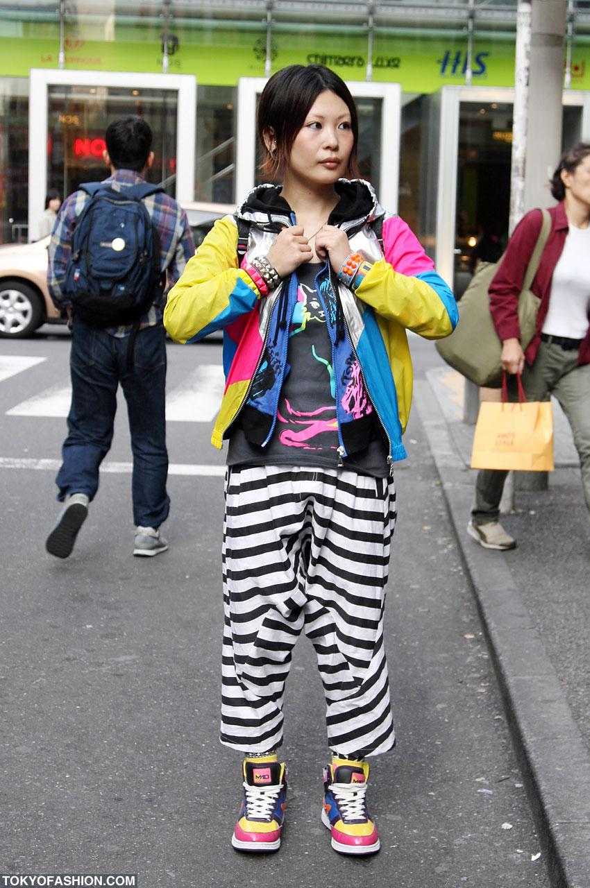 Japanese Dj Girl Fashion In Shibuya