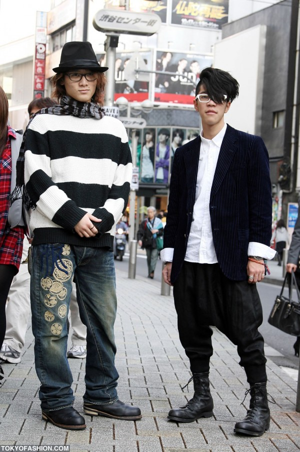 Sarueru Pants & Knit Sweater in Shibuya