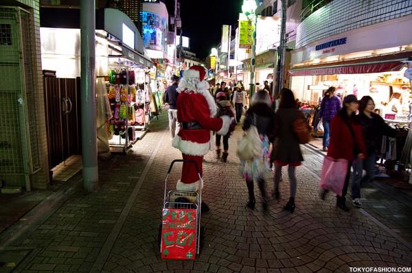 Santa in Harajuku