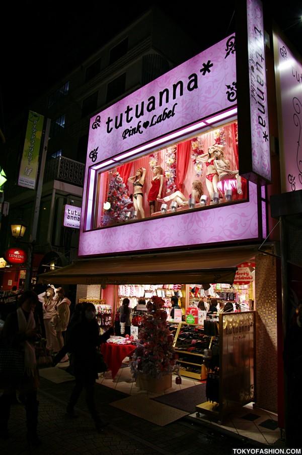 Tutuanna Shop on Takeshita